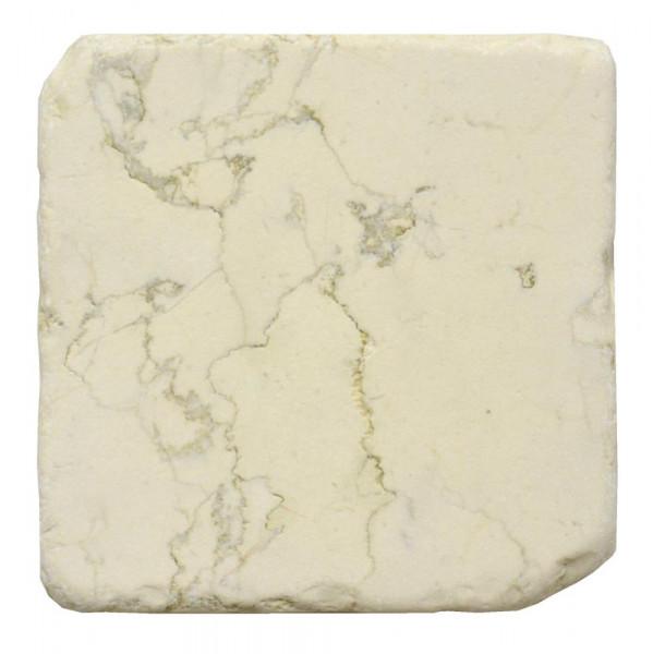 Bodenfliese Marmor Biancone Weiss 10x10 Cm
