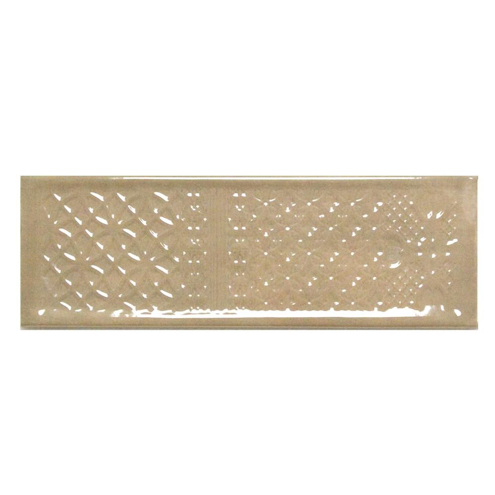 Wandfliese dekor cifre titan vison beige 10x30 5 cm i - Wandfliesen maueroptik ...