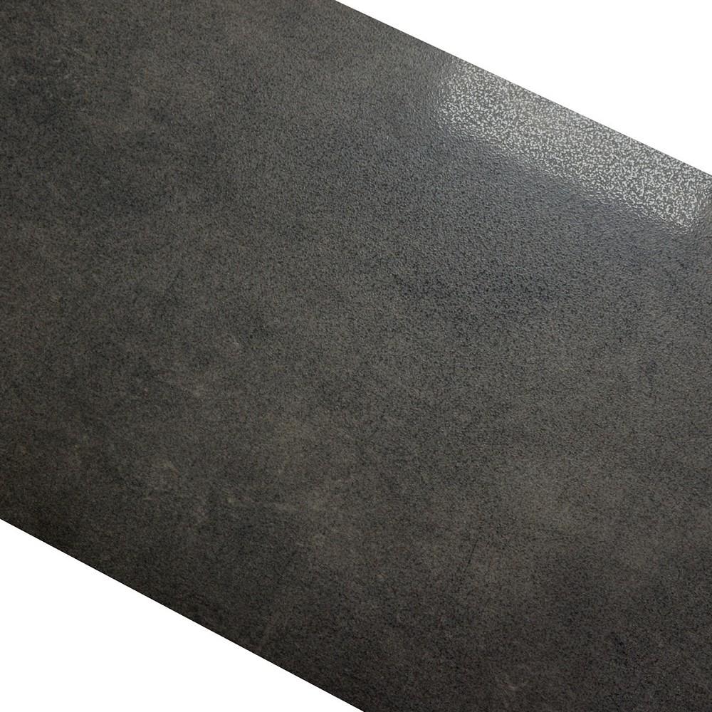 Bodenfliese Paradyz Taranto grafit schwarz teilpoliert