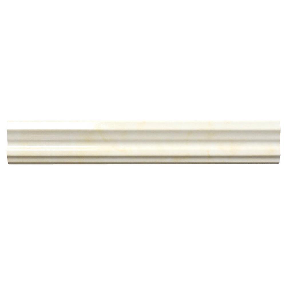 Muster ab 10x10cm Bodenfliese Kashmir Marfil Creme beige rektifiziert poliert im Gro/ßformat 80x80cm aus Feinsteinzeug Fliese poliert