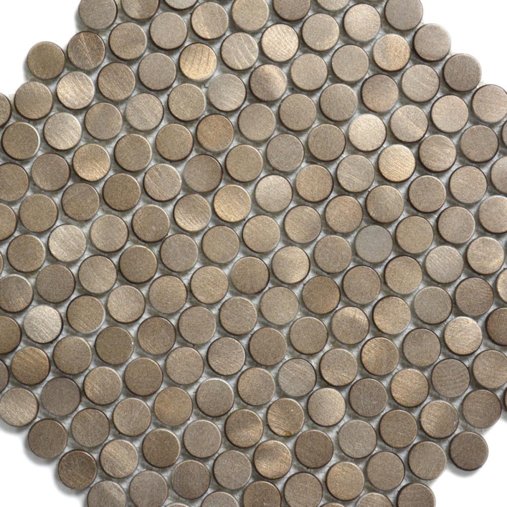 Mosaik HJ CB001 bronze metallic 30x30 cm