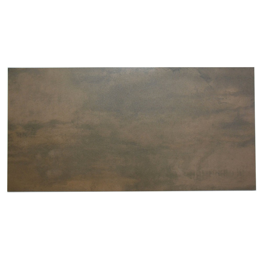 bodenfliese cifre acero copper braun 60x120 cm i sorte bodenfliesen fliesen m ller www. Black Bedroom Furniture Sets. Home Design Ideas